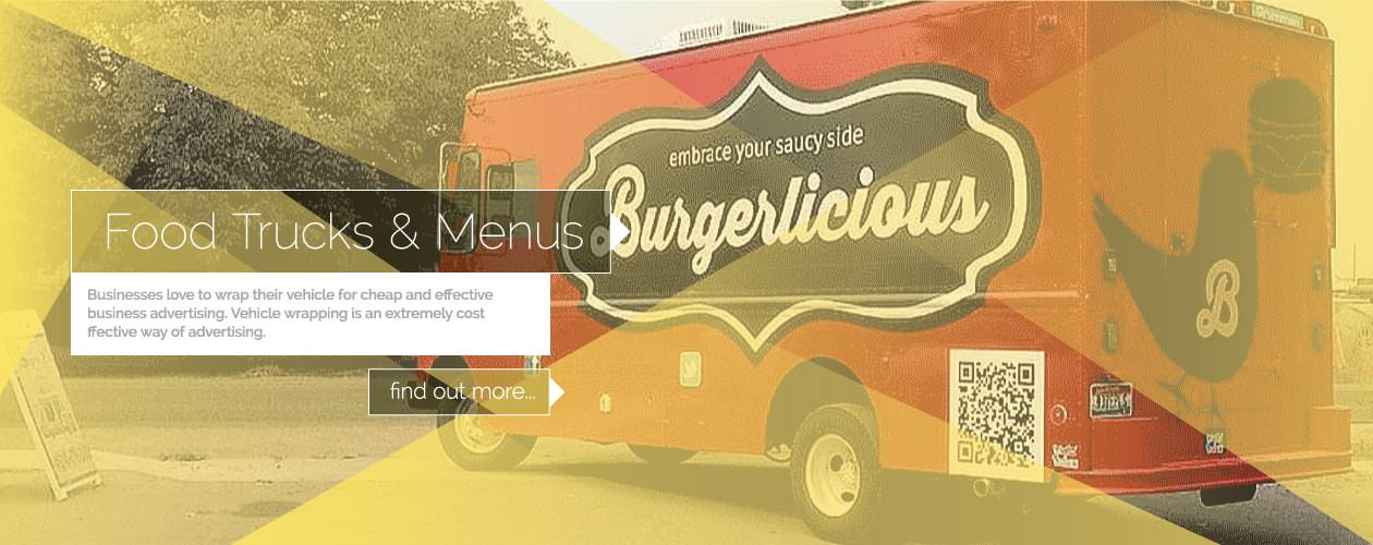 Food Truck Wraps and Food Truck Menus Boise